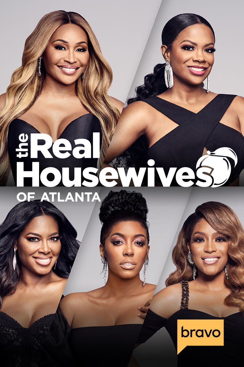 "cover design for ""The Real Housewives of Atlanta"""