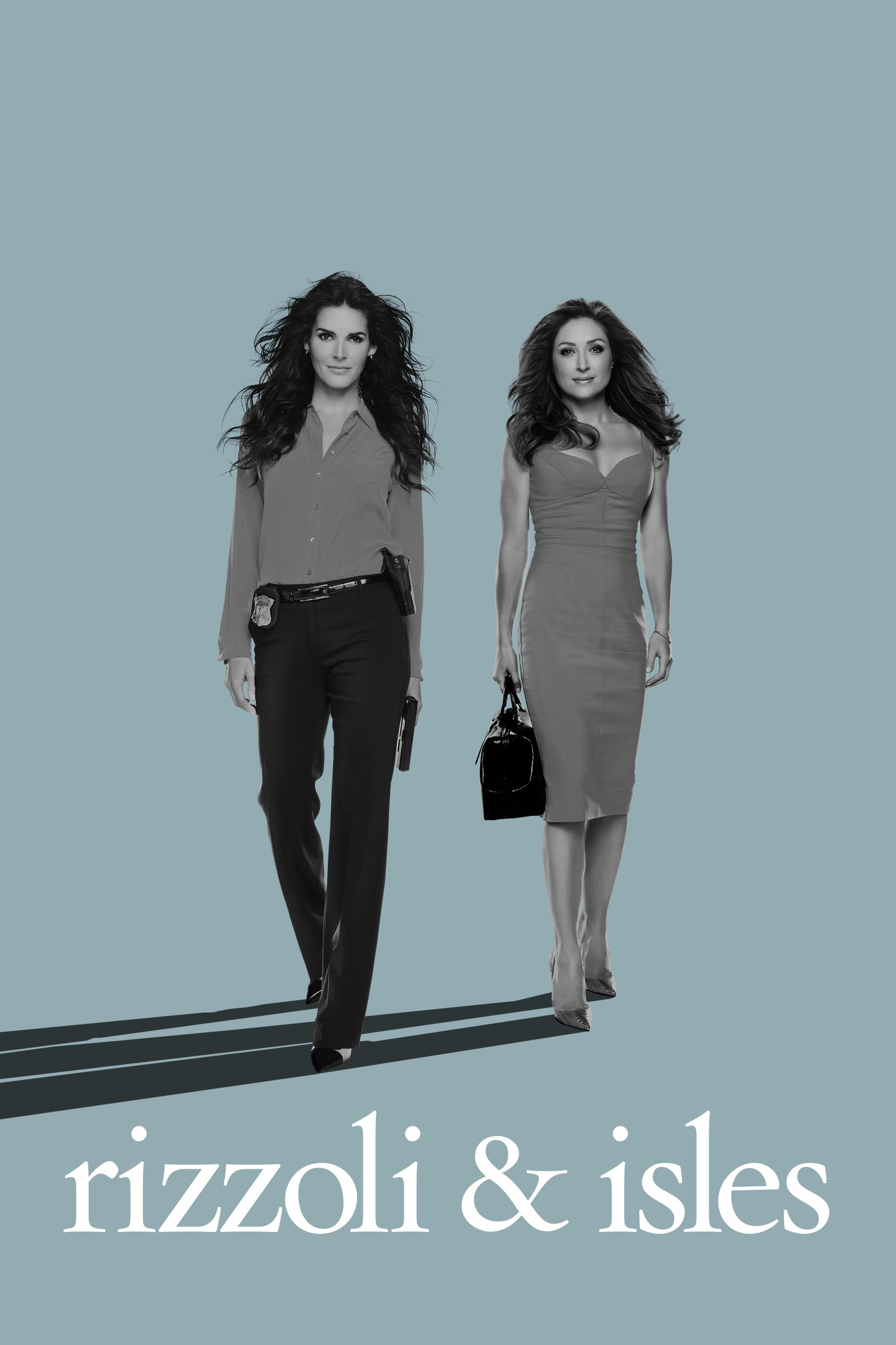 "cover design for ""Rizzoli & Isles"""