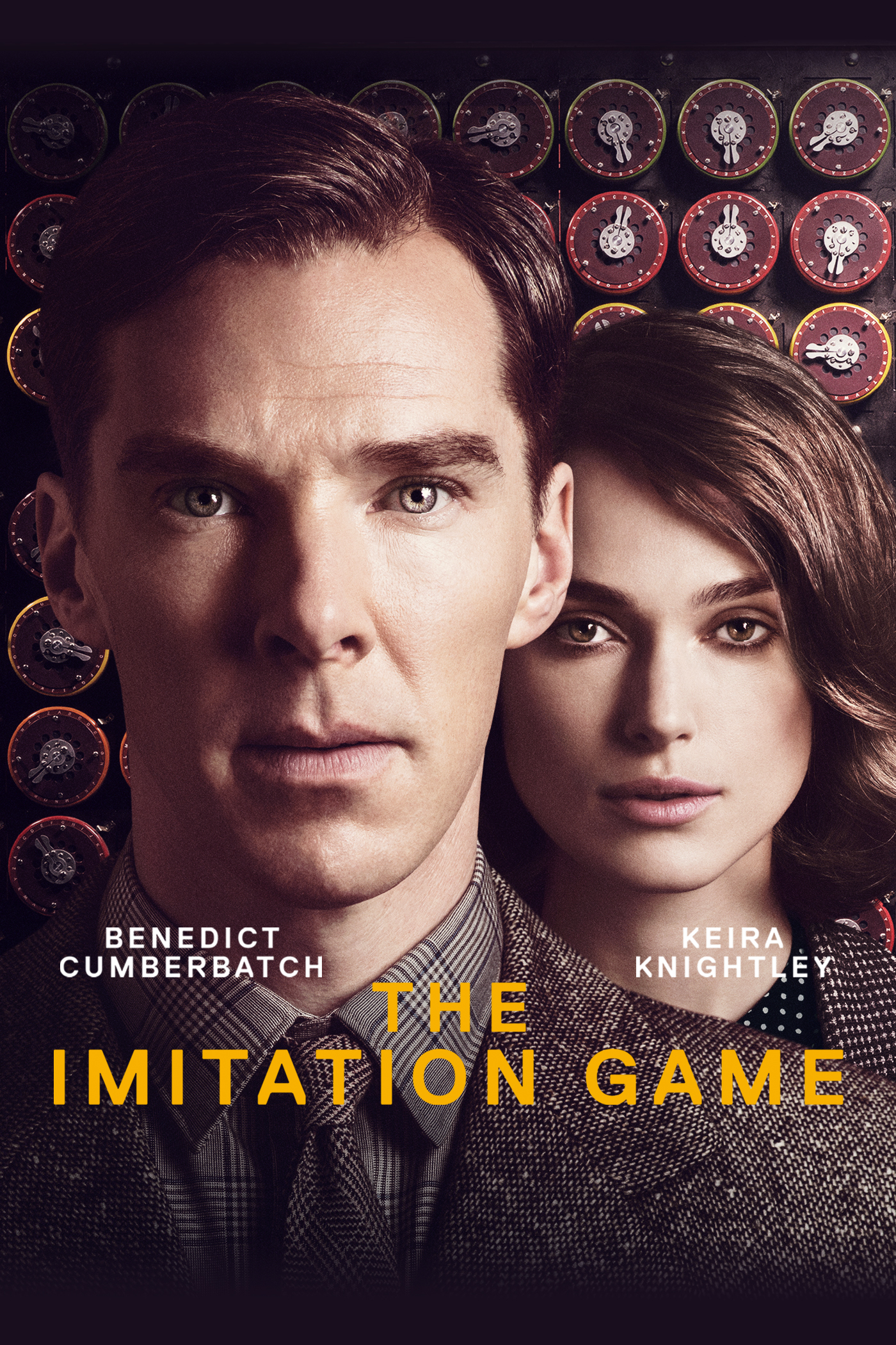 "cover design for ""The Imitation Game"""