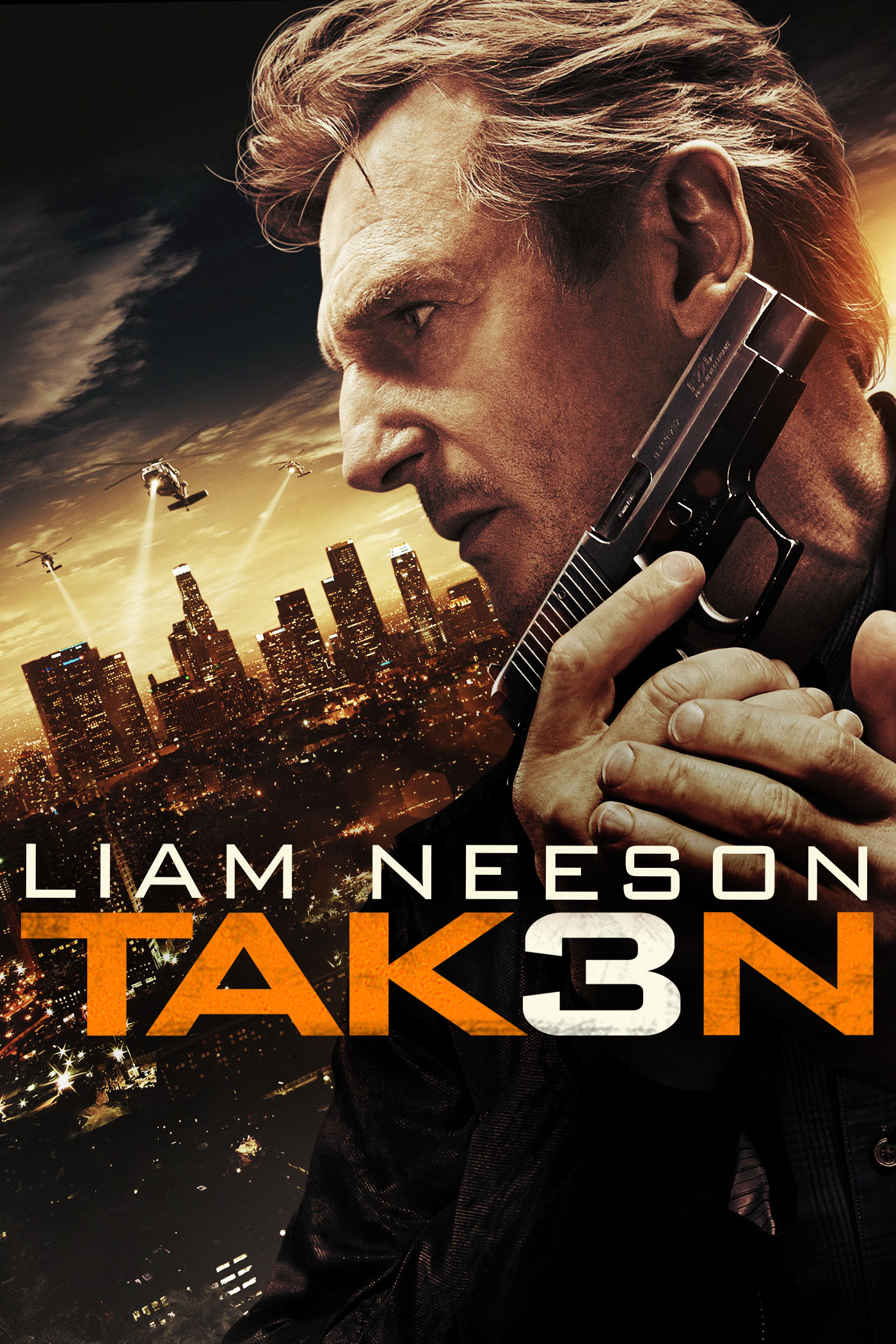 "cover design for ""Taken 3"""