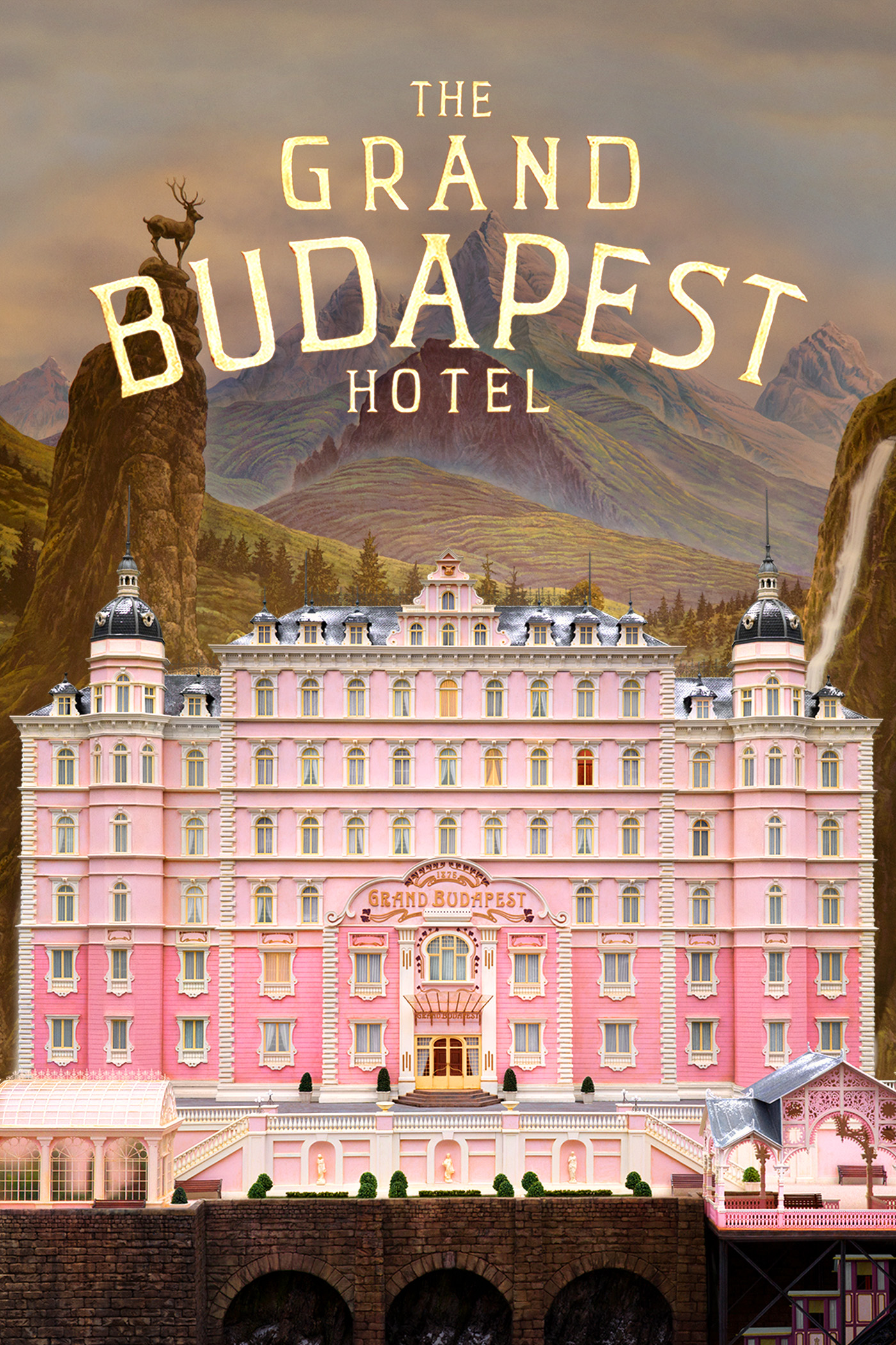 "cover design for ""The Grand Budapest Hotel"""