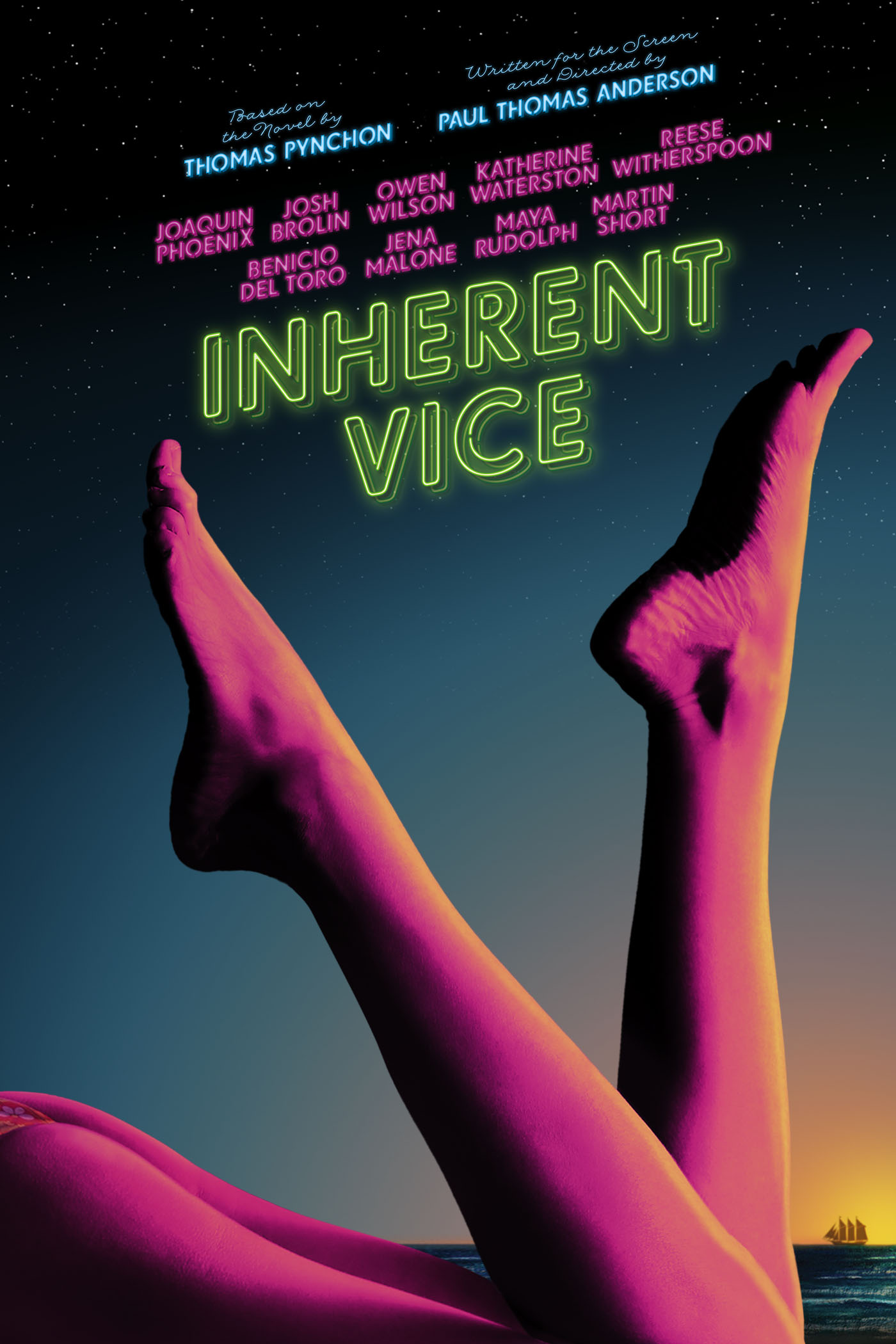 "cover design for ""Inherent Vice"""