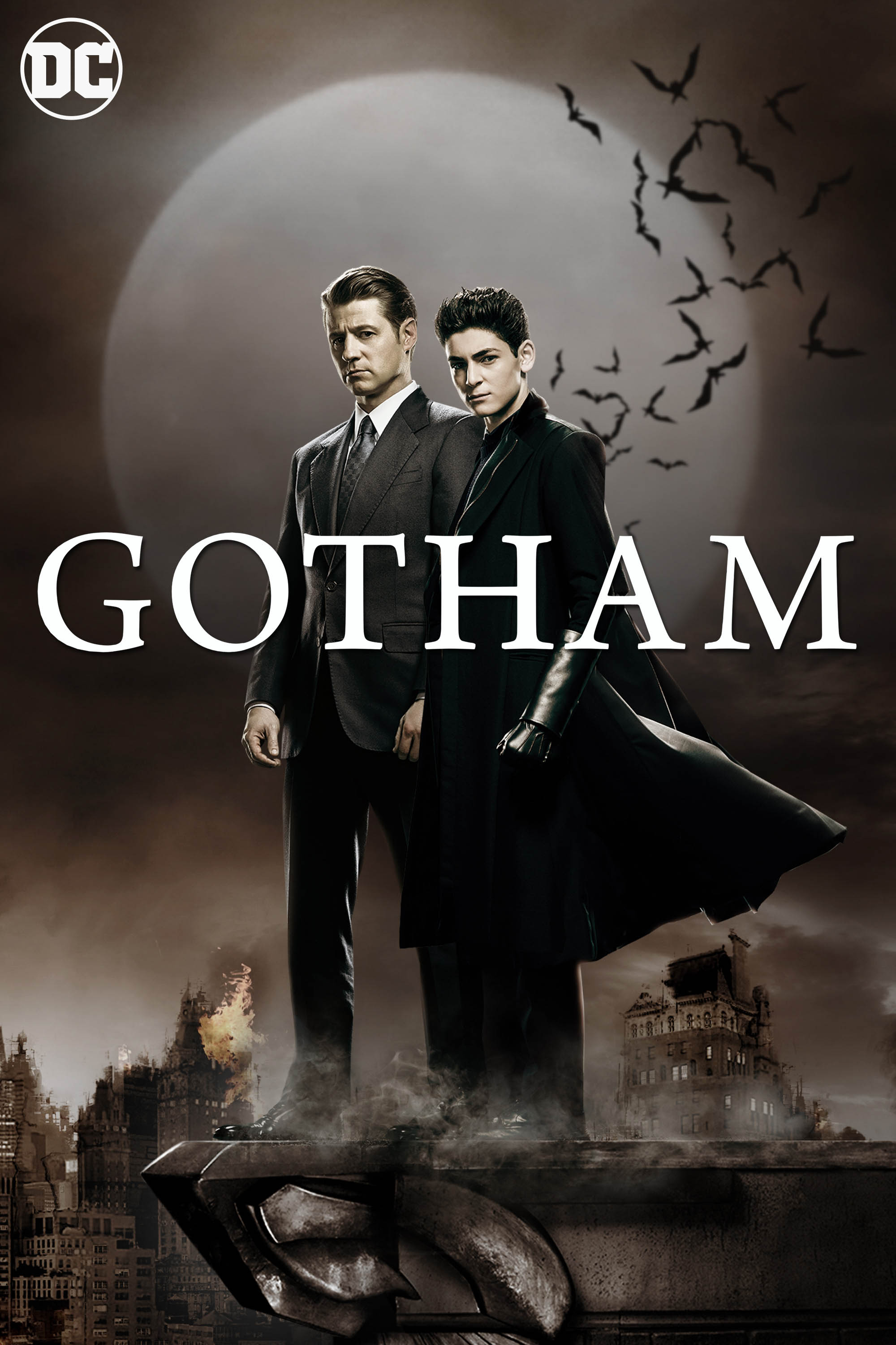 "cover design for ""Gotham"""