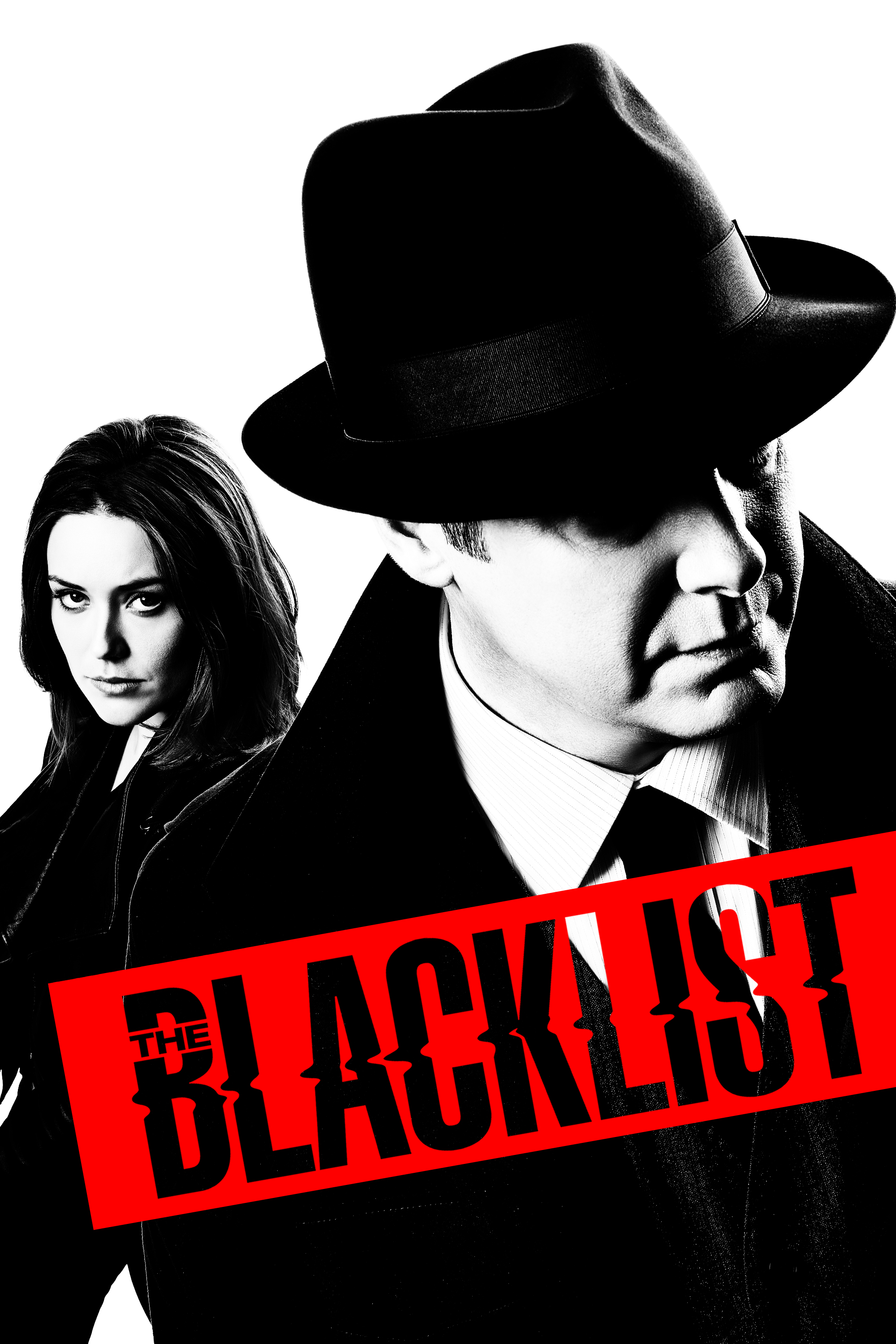 "cover design for ""The Blacklist"""