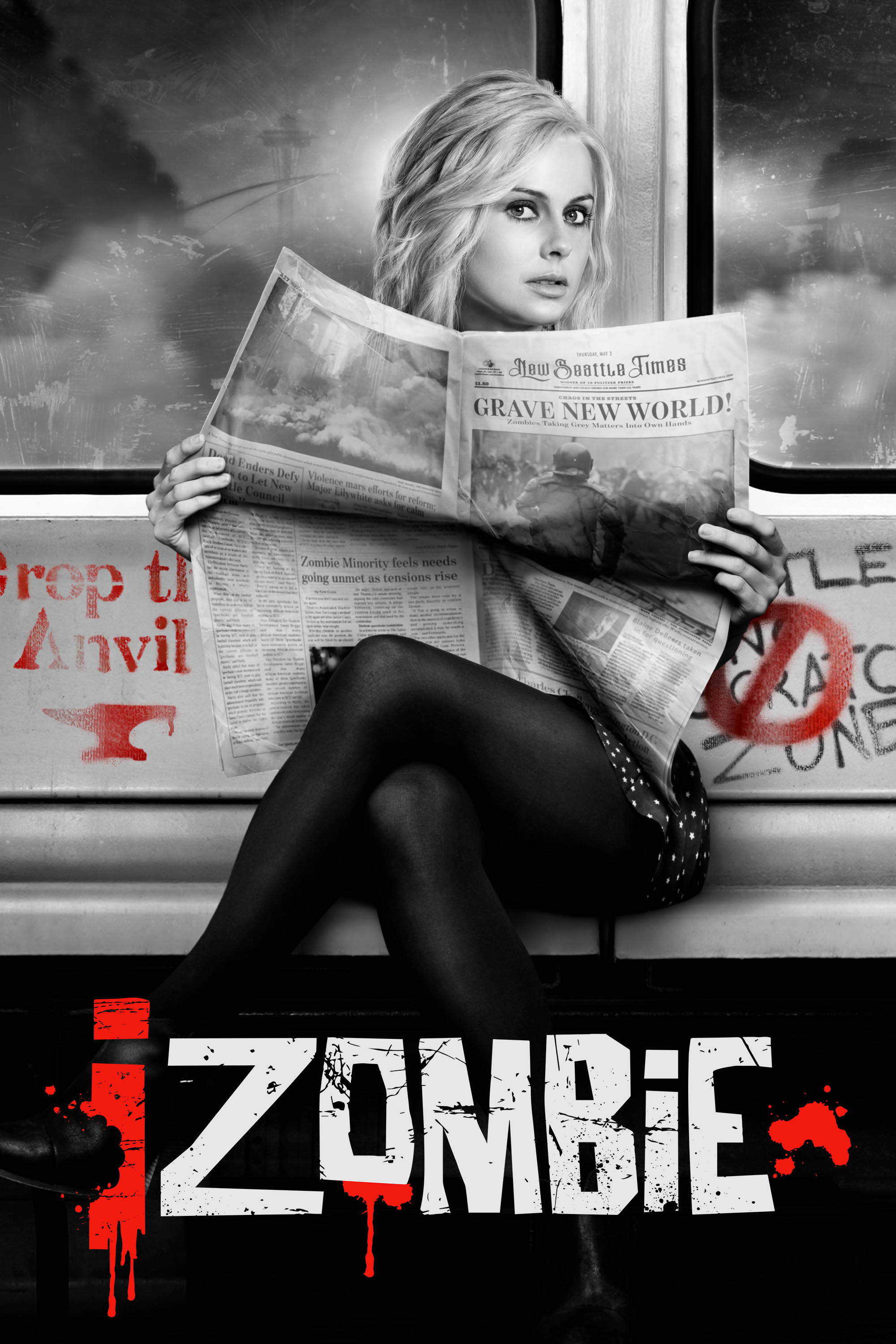 "cover design for ""iZombie"""
